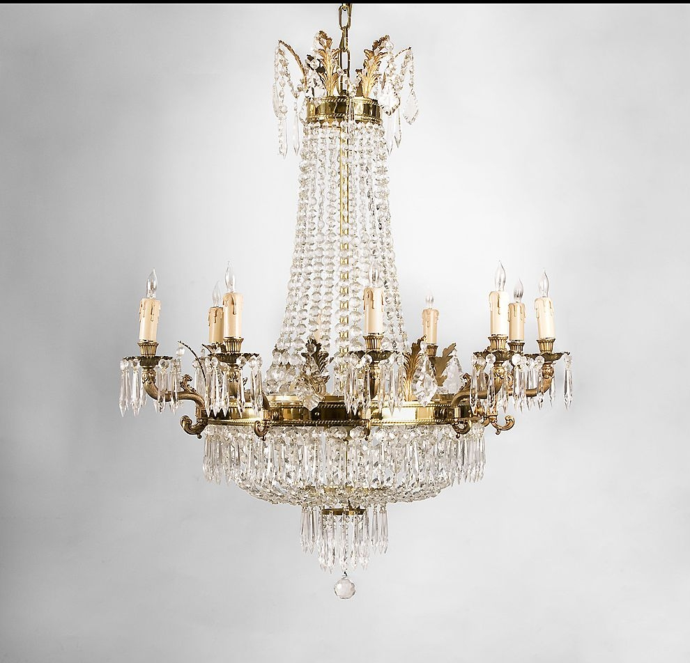 Lovable Contemporary Brass Chandelier Exquisite Mid Century Modern Within Brass And Crystal Chandeliers (Image 14 of 15)