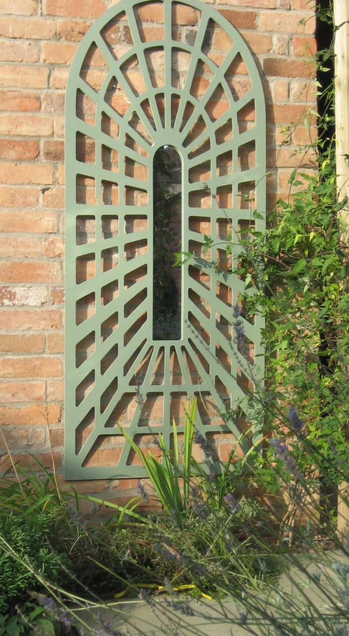 15 Collection Of Large Outdoor Garden Mirrors Mirror Ideas