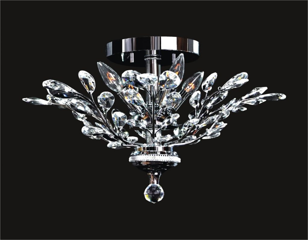 Low Ceiling Lighting Options Similar To Crystal Chandeliers Low Inside Low Ceiling Chandeliers (Image 13 of 15)