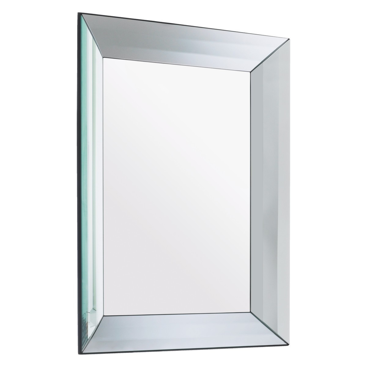 Luella 60 X 80cm Rectangular Bevelled Wall Mirror Buy Now At Regarding Bevelled Glass Mirror (Image 12 of 15)