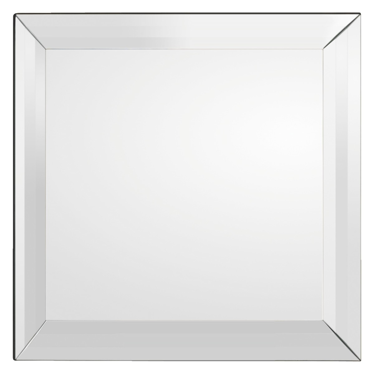 Luella 90 X 90cm Silver Square Wall Mirror Buy Now At Habitat Uk Pertaining To Square Wall Mirror (Image 12 of 15)