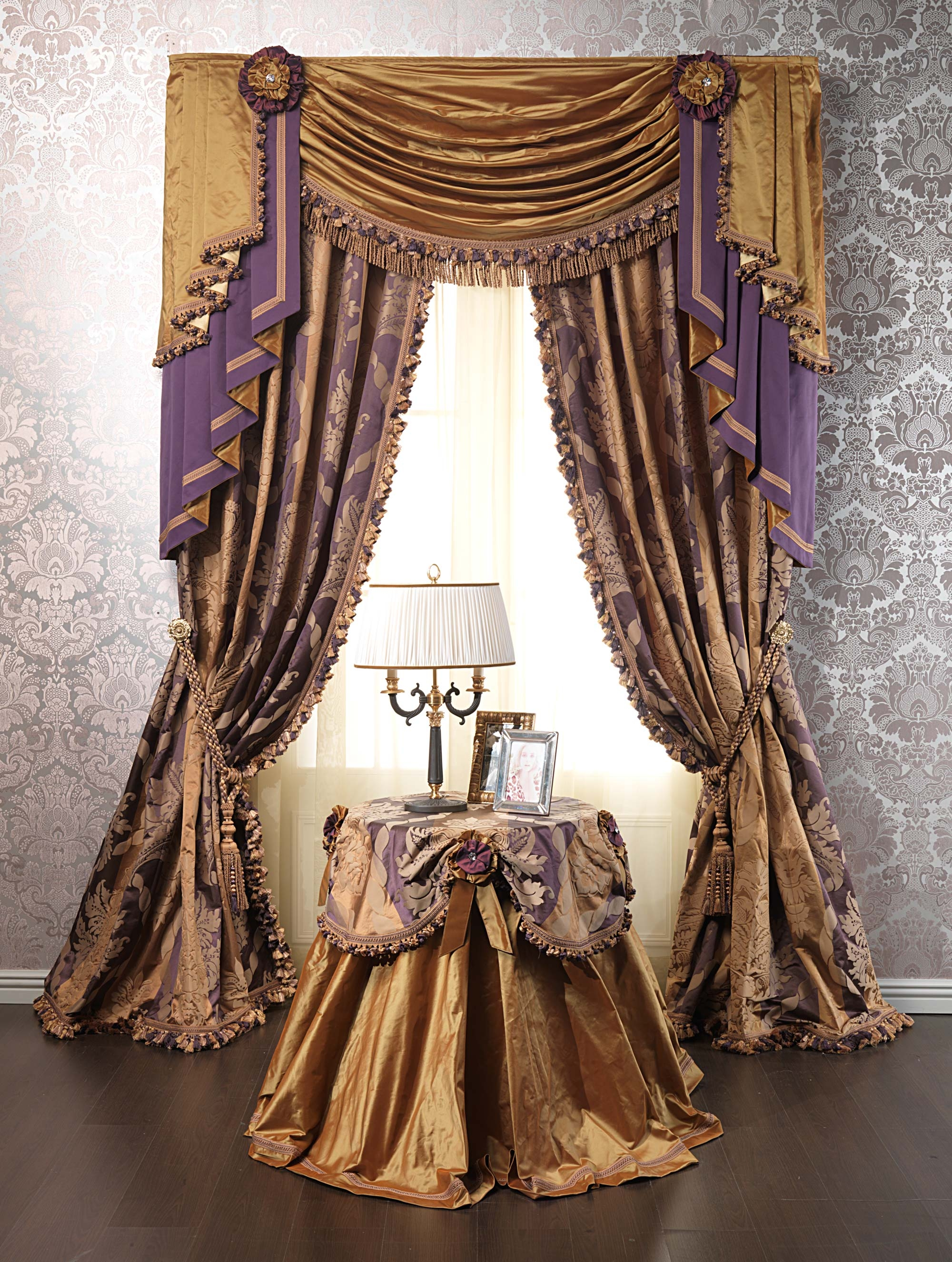 Luxurious Curtains For Exclusive Interiors With Regard To Luxury Curtains (Image 8 of 15)