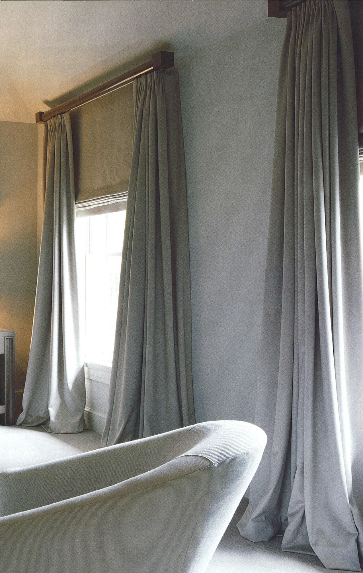Luxury But Plain Curtains And Matching Blinds They Will Be A Big In Curtains With Matching Roman Blinds (Image 7 of 15)