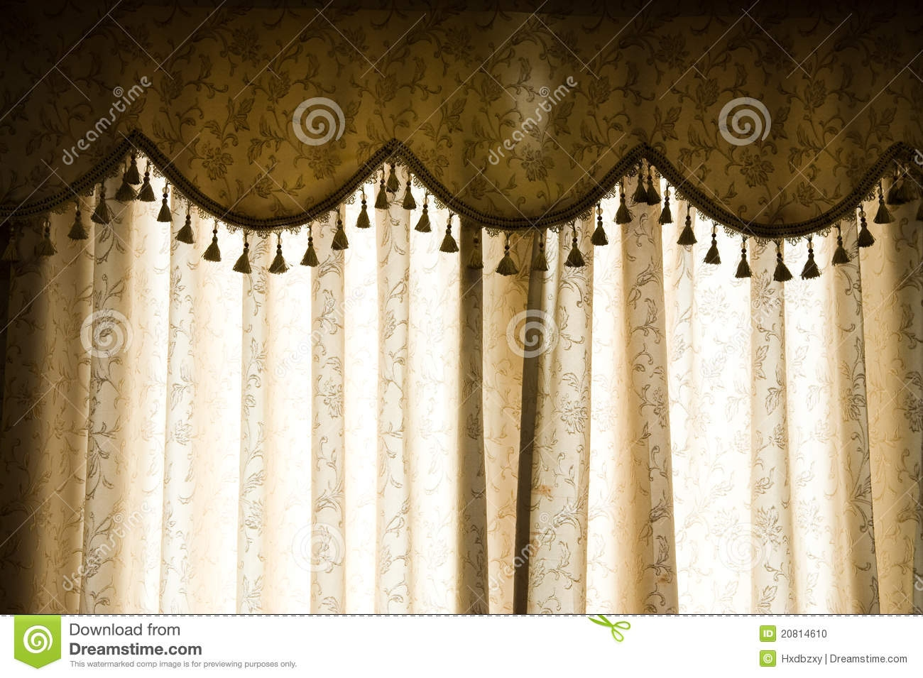 Luxury Curtain Stock Photo Image 20814610 With Luxury Curtains (View 11 of 15)