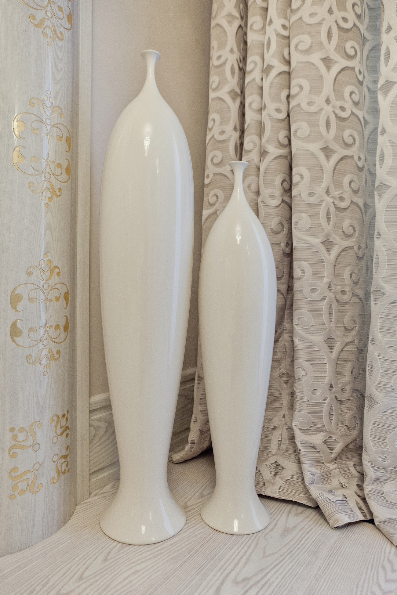Luxury Interior Design Lidia Bersani Home Fashion With Regard To Luxury White Curtains (Image 7 of 15)