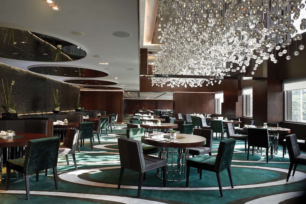 Luxury Restaurant Chandeliers Design The Mira Hotels Zeospot In Chandelier For Restaurant (Image 6 of 15)