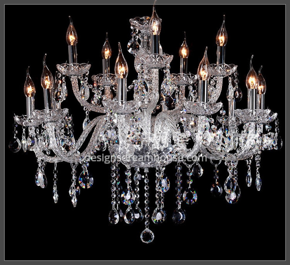 Luxury Smoke Grey Crystal Chandelier Home Design Gallery Pertaining To Grey Crystal Chandelier (Image 13 of 15)