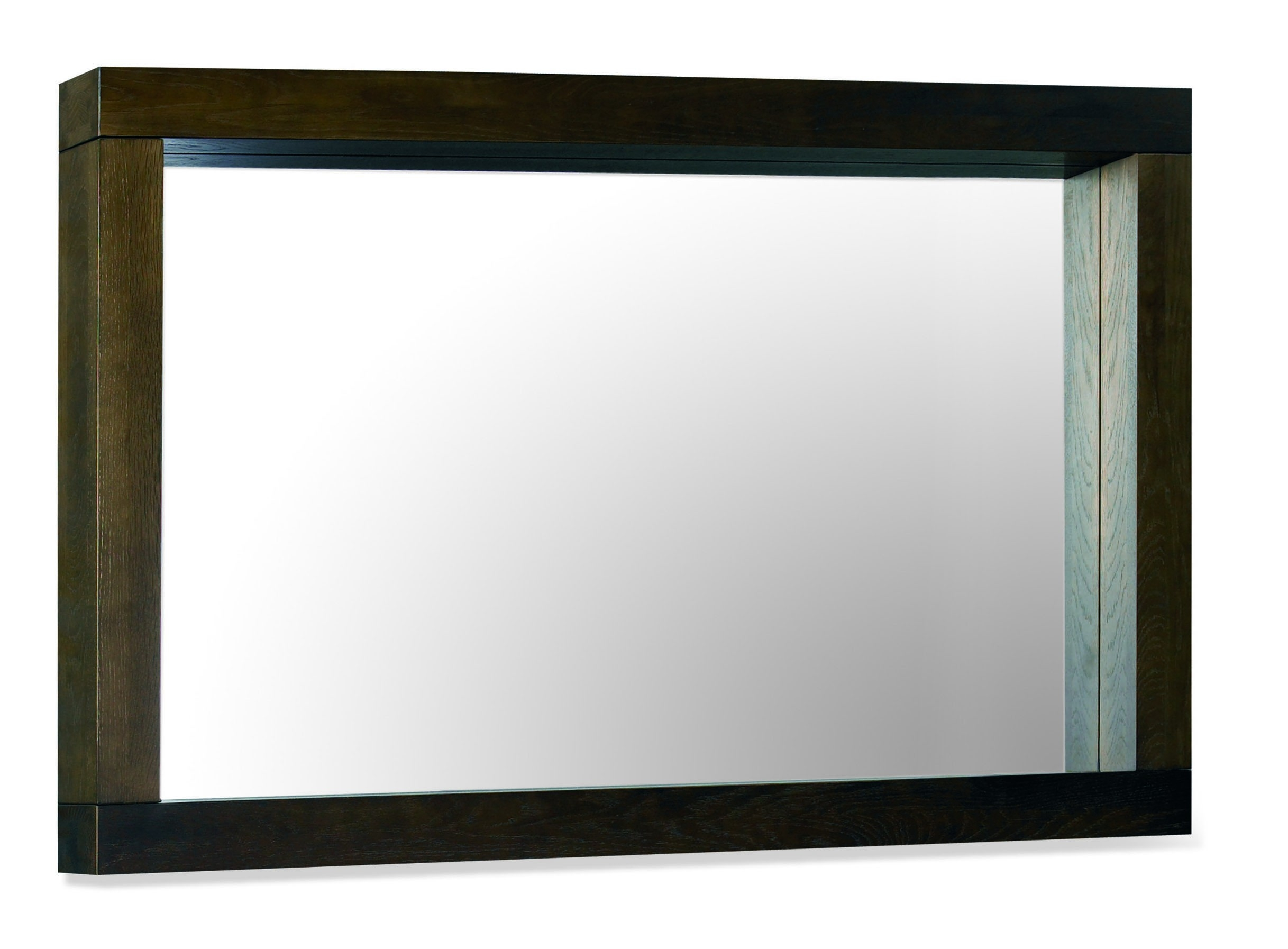 Lyon Walnut Large Landscape Mirror Bentley Designs With Regard To Large Landscape Mirror (Image 13 of 15)