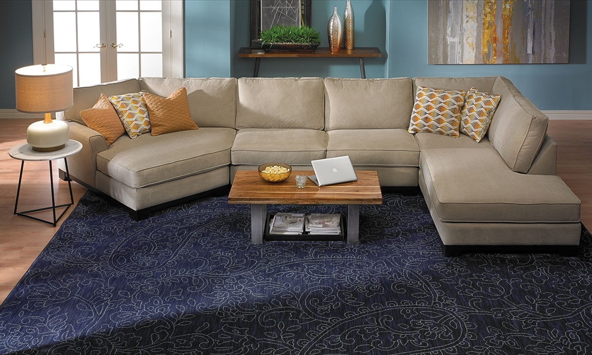 Made In La Cuddler Chaise Sectional Sofa Haynes Furniture With Cuddler Sectional Sofa (Image 10 of 15)