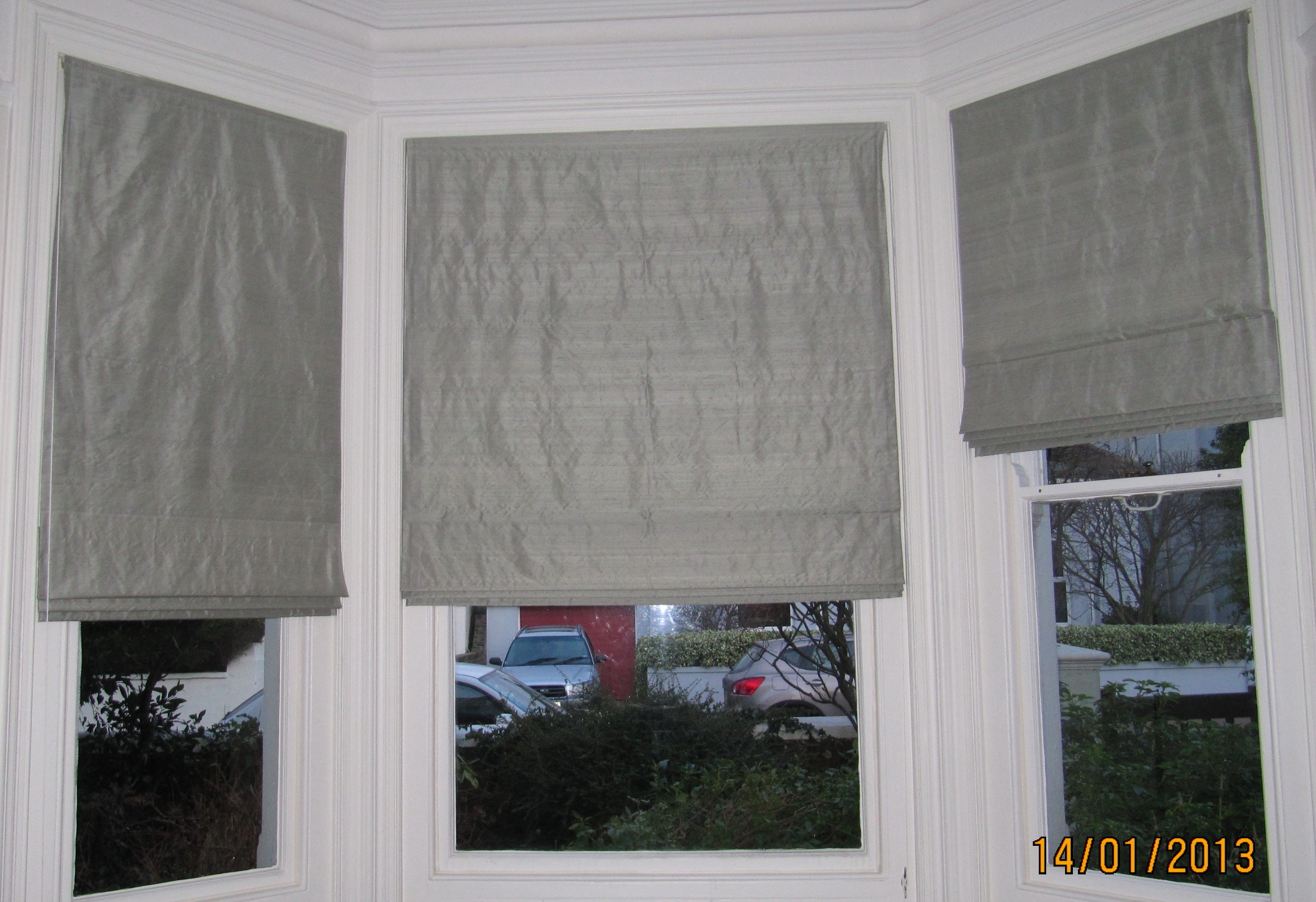 Made To Measure Curtains And Blinds In East Preston Curtains Inside Silk Blinds (Image 6 of 15)