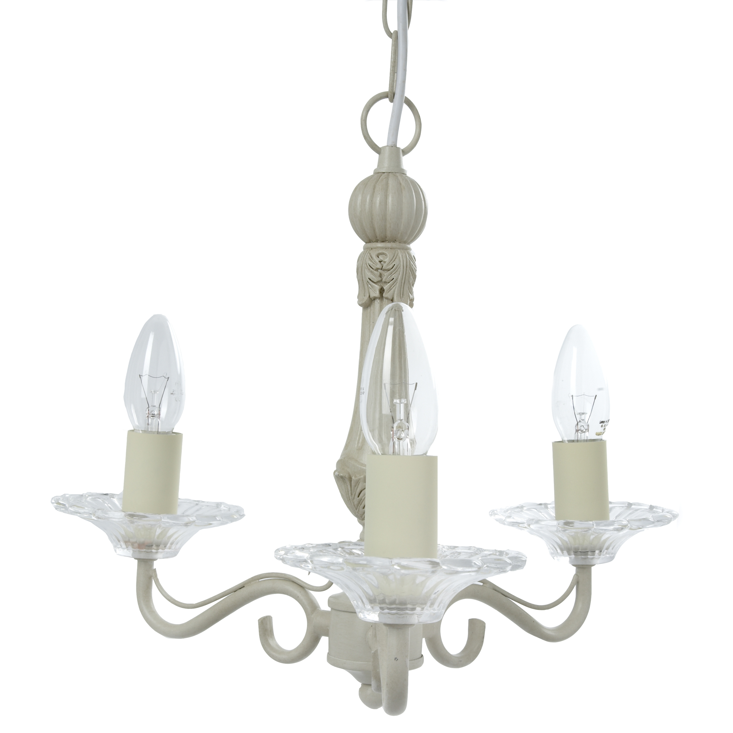 Madley Cream 3 Light Chandelier Lamps Pinterest Bedroom With Cream Chandelier Lights (Image 12 of 15)