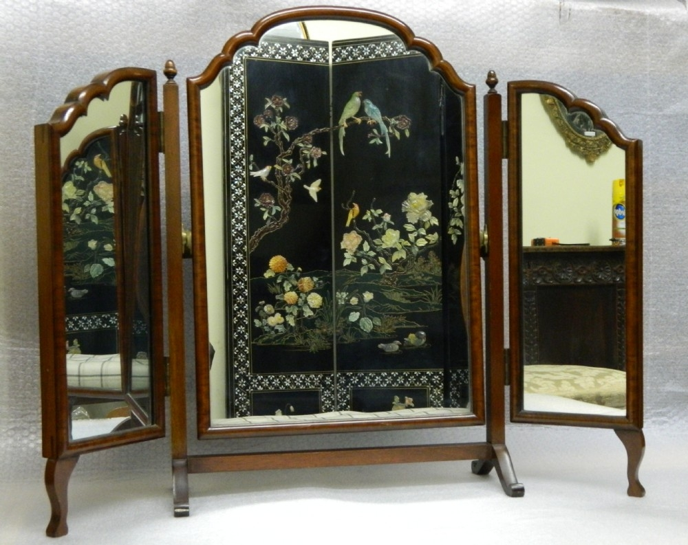 Featured Image of Antique Triple Mirror