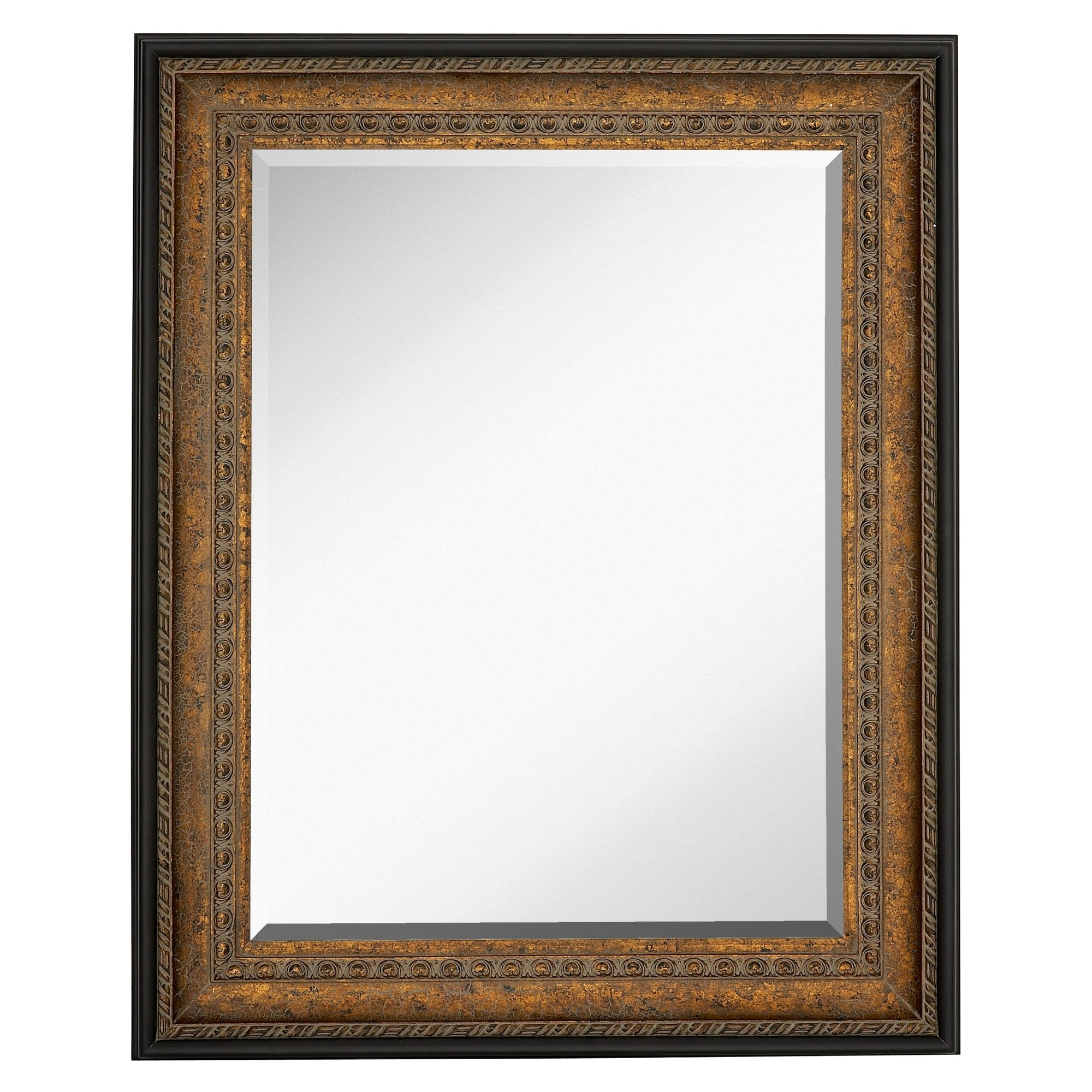 Majestic Mirror Large Rectangular Mirror With Antique Bronze With Regard To Large Bronze Mirror (Image 10 of 15)