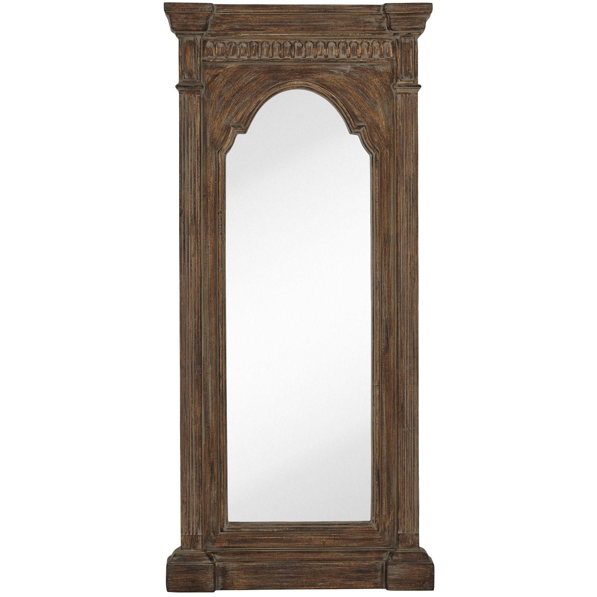 Majestic Mirror Oversized Traditional Tall Narrow Mirror With Within Tall Narrow Mirror (Image 4 of 15)