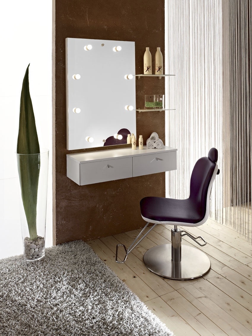 Makeup Table In Contemporary Minimalist Dresser Design Bedroom For Contemporary Dressing Table Mirrors (Image 11 of 15)