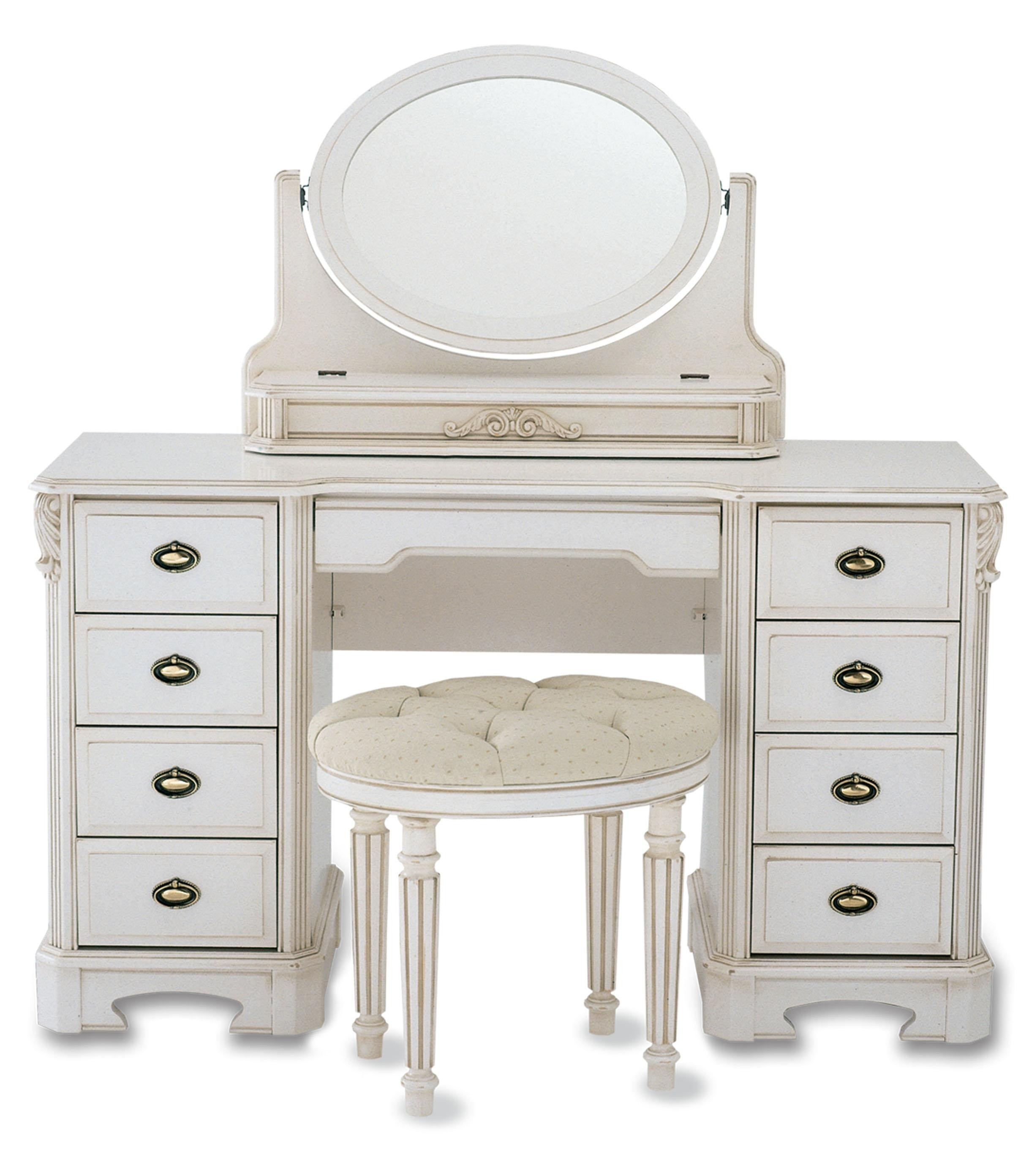 Makeup Tables For Sale Decorative Table Decoration Pertaining To Antique Small Mirrors (Image 12 of 15)
