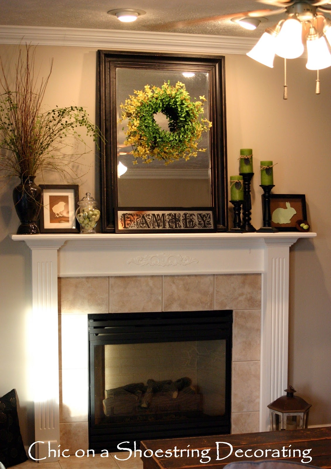 Mantel Fireplace Accessories Mirror Inside For Mantle Image 10 Of 15