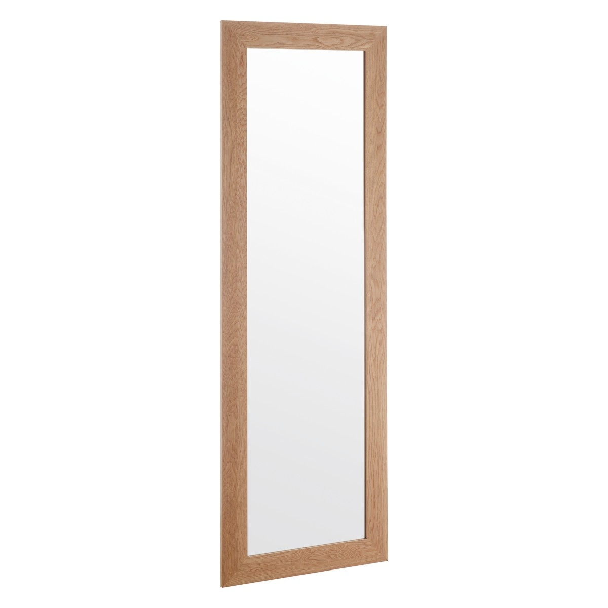 Marlo 40 X 140cm Full Length Oak Wall Mirror Buy Now At Habitat Uk Throughout Oak Wall Mirrors (Image 7 of 15)