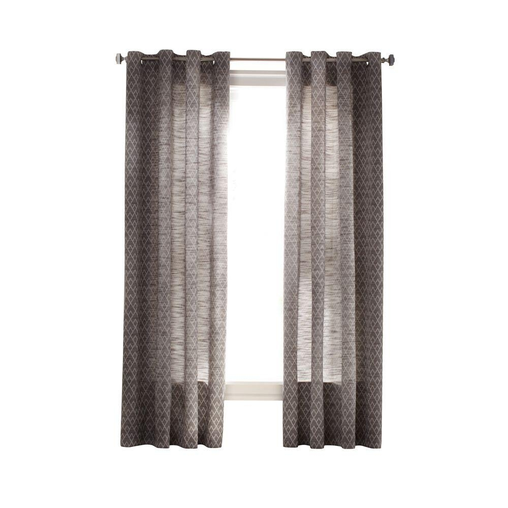 Martha Stewart Living Curtains Drapes Window Treatments Pertaining To Striped Thermal Curtains (Image 9 of 15)