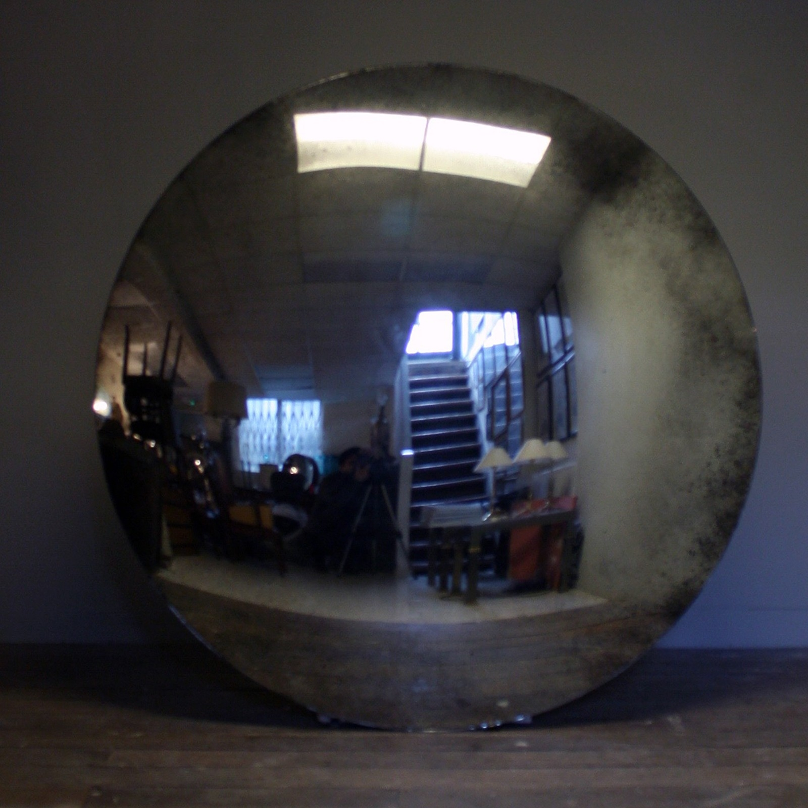 Massive Convex Mirror Decorative Collective Inside Antique Convex Mirrors For Sale (Image 12 of 15)