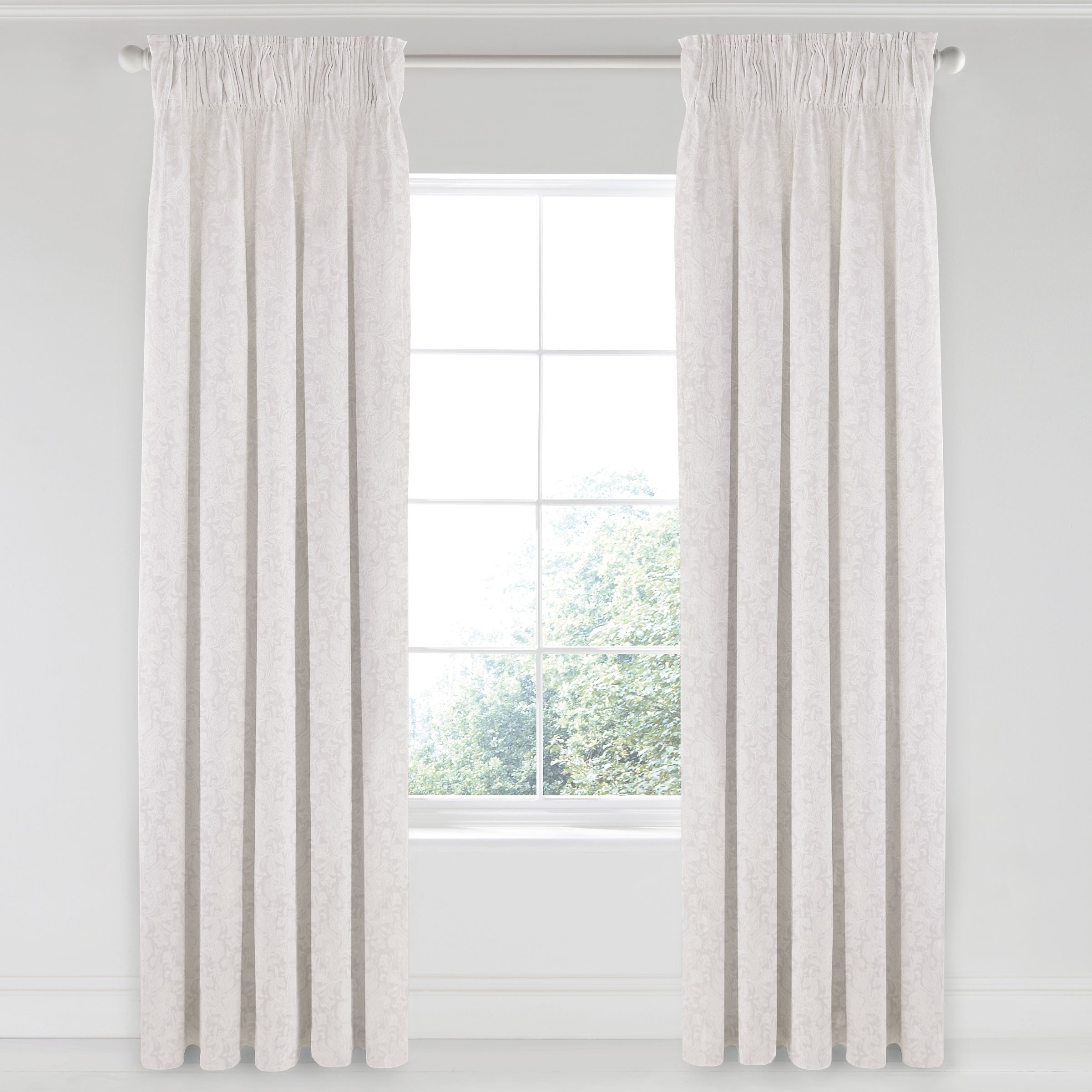 Matching White Curtains Bedding Vauville 66×72 Curtains At With Regard To Luxury White Curtains (Image 9 of 15)