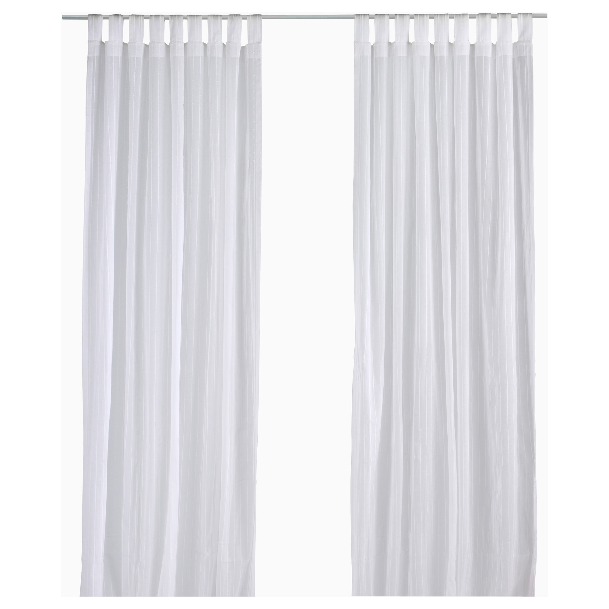 Matilda Sheer Curtains 1 Pair Ikea With Regard To White Sheer Cotton Curtains (Image 7 of 15)