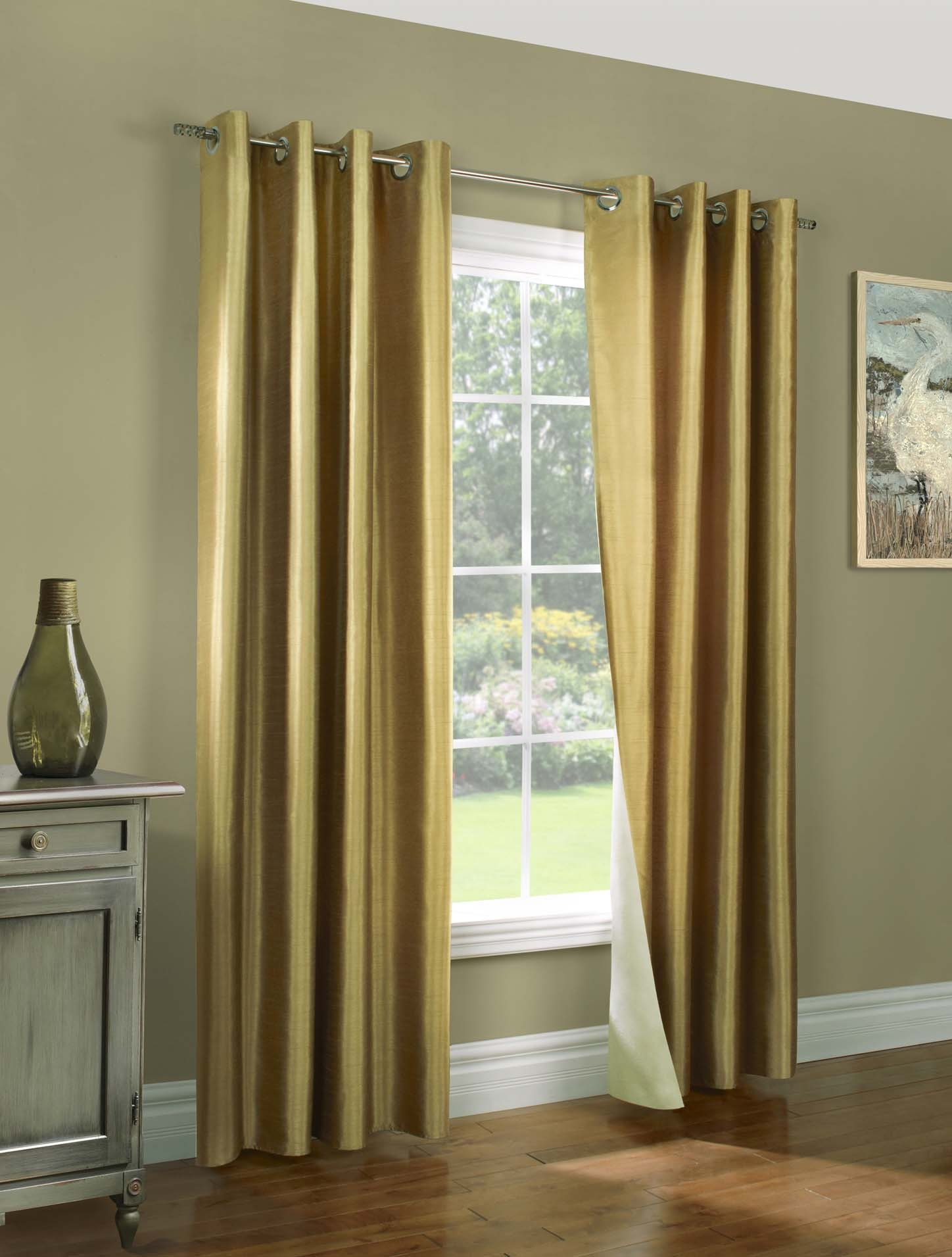 Miller Super Insulated Reversible Drapes Pertaining To Double Lined Curtains (Image 13 of 15)