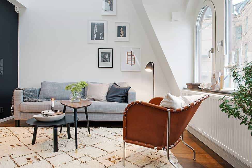 Featured Image of Minimalist Cozy Living Room Apartment Interior Decor
