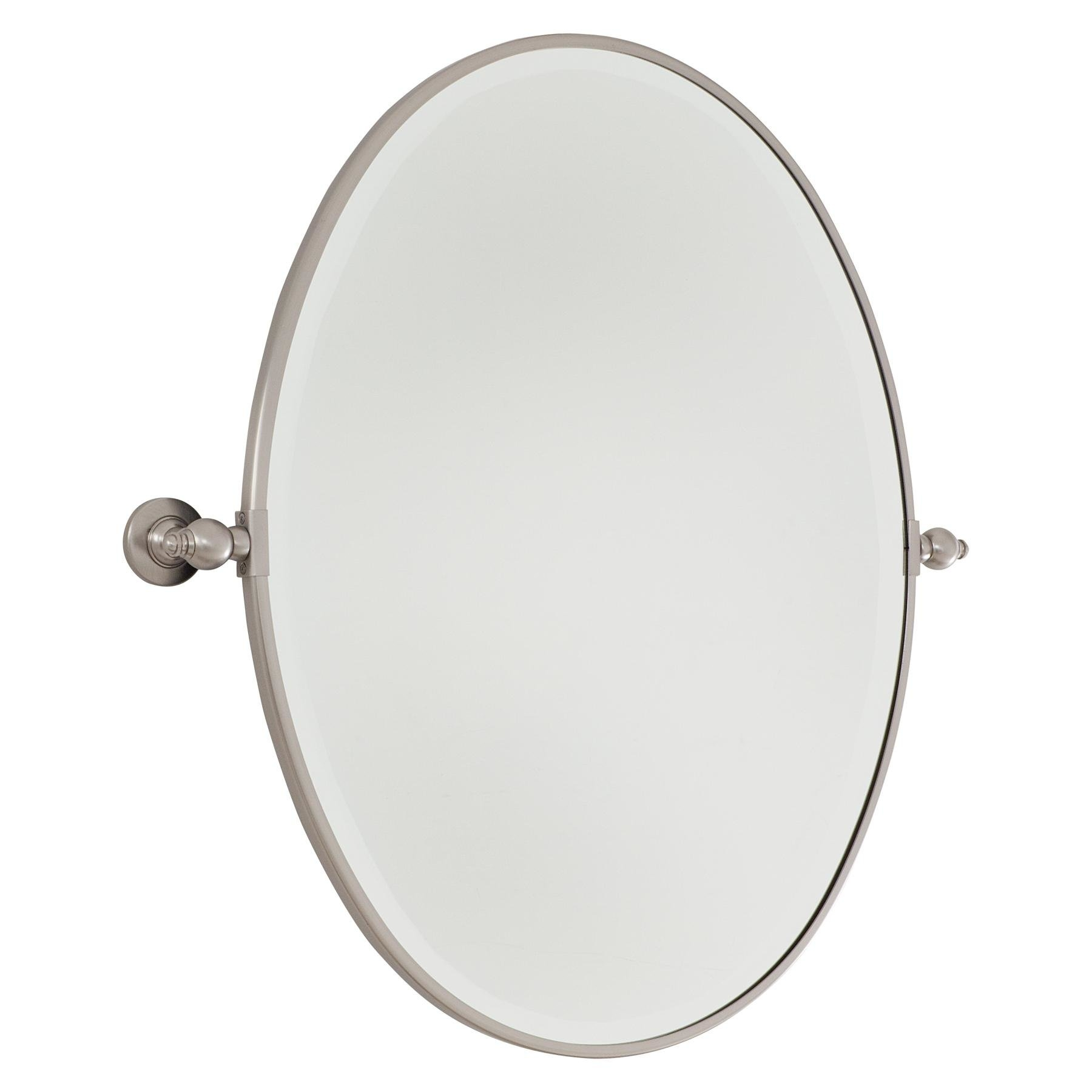 Minka Lavery Oval Wall Mirror Reviews Wayfair Inside Black Oval Wall Mirror (Image 6 of 15)