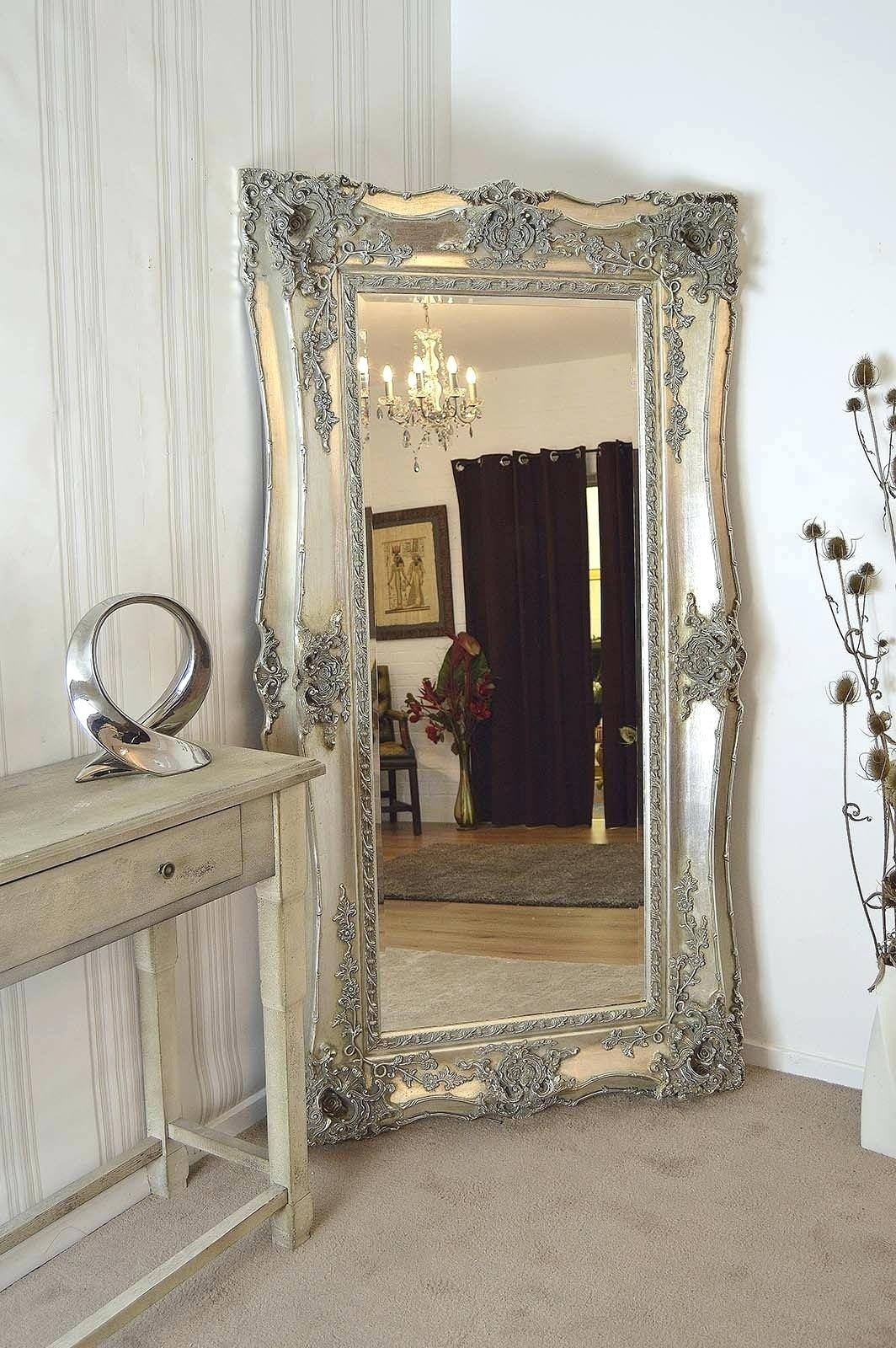 Mirror For Dining Room Walls Extra Large Very Ornate Full Length With Ornate Free Standing Mirror (Image 10 of 15)