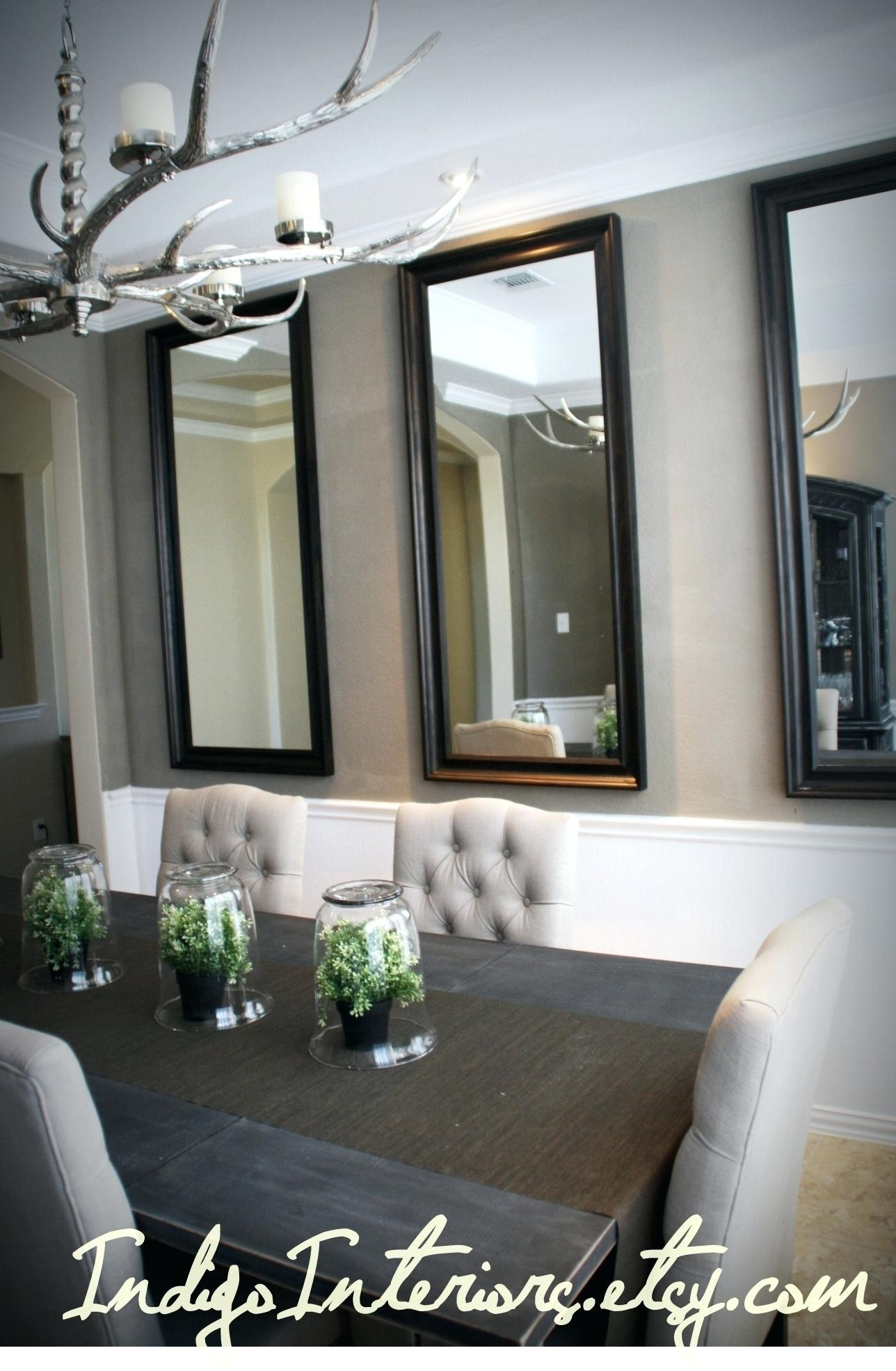 Mirror For Hallways Mirrors Dining Roomkelli Arena Modern Oval Throughout Modern Large Mirrors (Image 10 of 15)