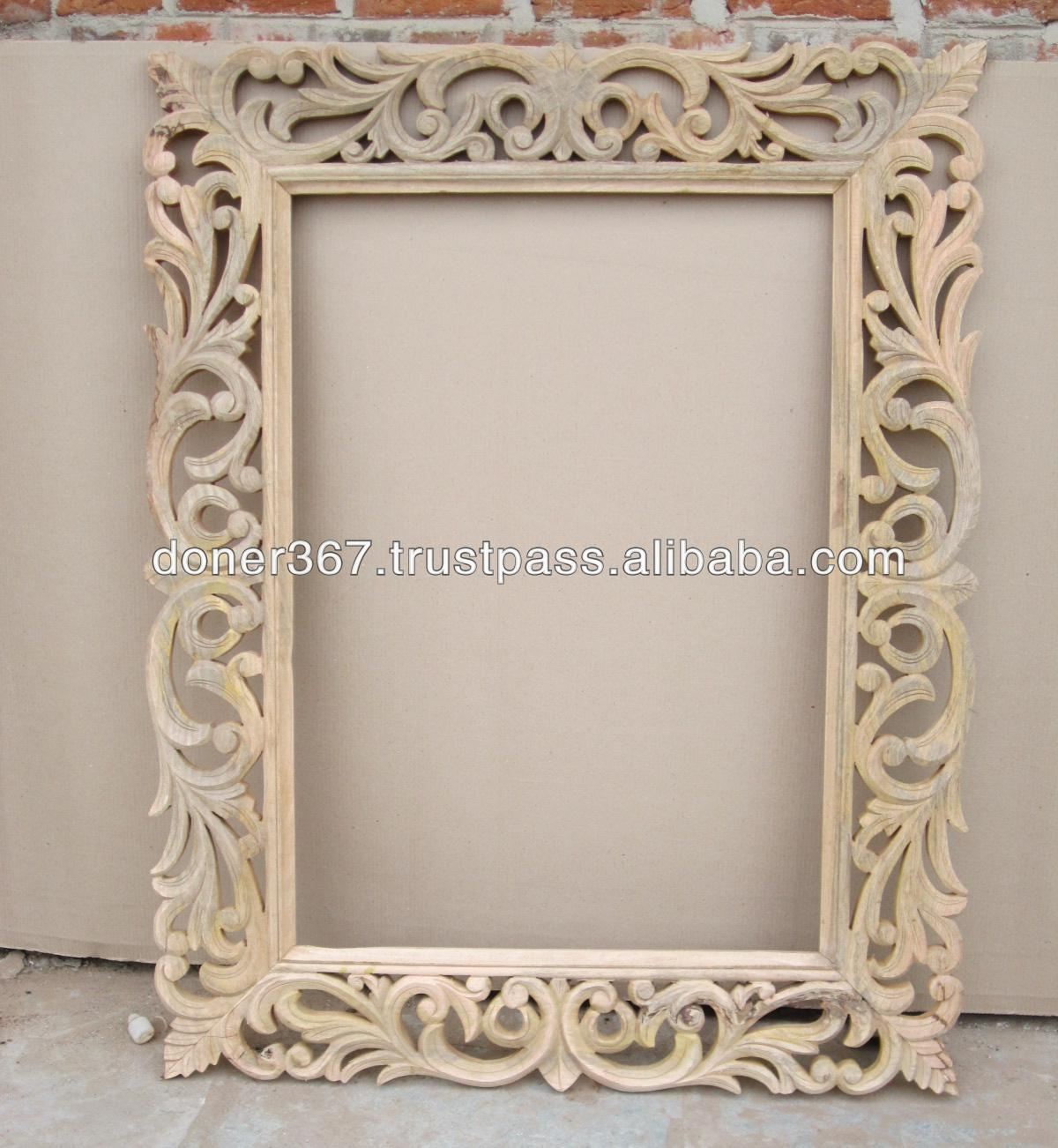 Mirror Frame Mirror Frame Suppliers And Manufacturers At Alibaba In Big Ornate Mirrors (Image 11 of 15)