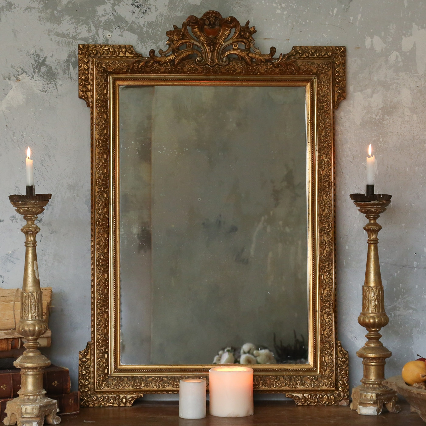 Mirror Ideas About Old Mirrors On Pinterest Vintage Antique For Regarding Vintage Wall Mirrors For Sale (Image 9 of 15)
