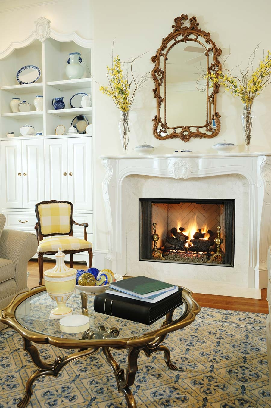 Mirror On Fireplace Mantel Fireplace Ideas Inside Large Mantel Mirror (Image 14 of 15)