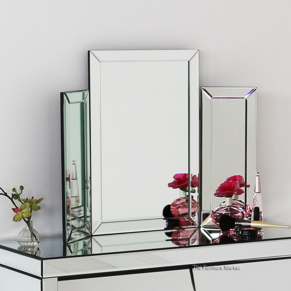Mirror On Stand For Dressing Table Images Throughout Free Standing Dressing Table  Mirrors (Image 12