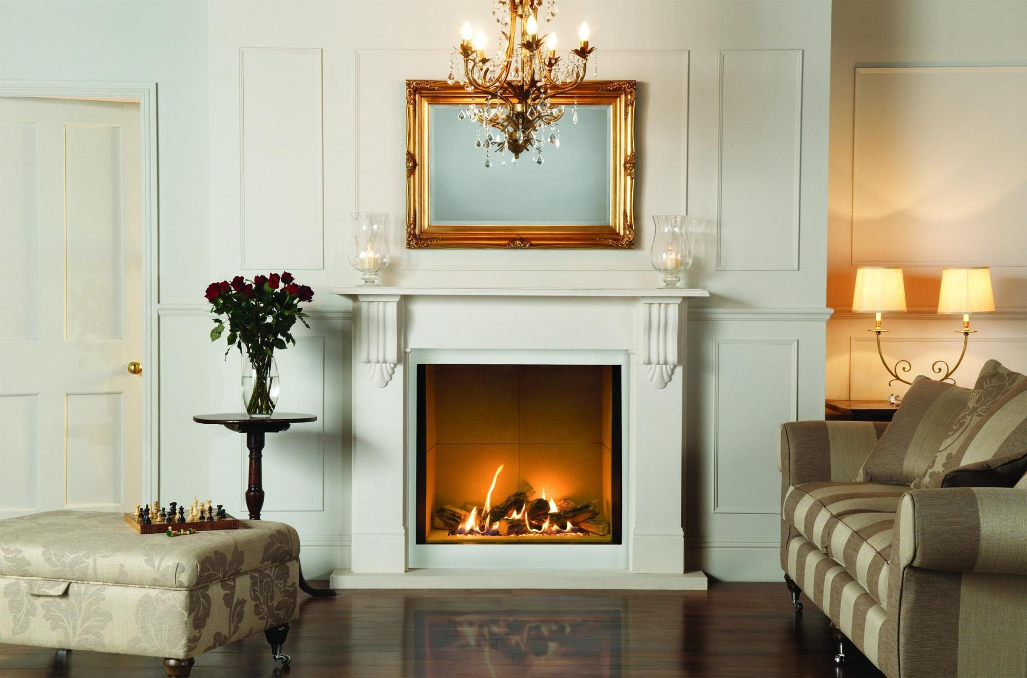 Mirror Over Fireplace Mantel Fireplace Mantel Design Within Above Mantel Mirrors (Image 11 of 15)