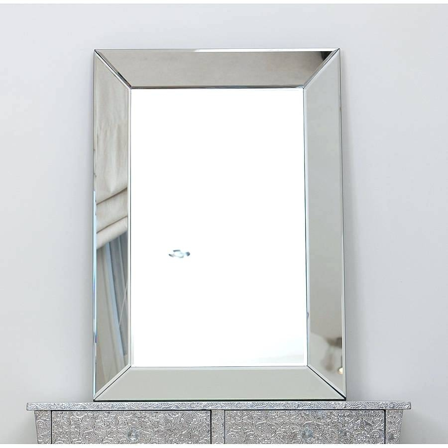 Mirror Shelving Unit Venetian Large Plain Glass Window Film Within Bevelled Glass Mirror (Image 13 of 15)