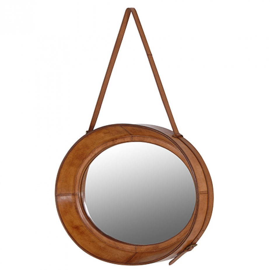 Featured Image of Leather Mirror