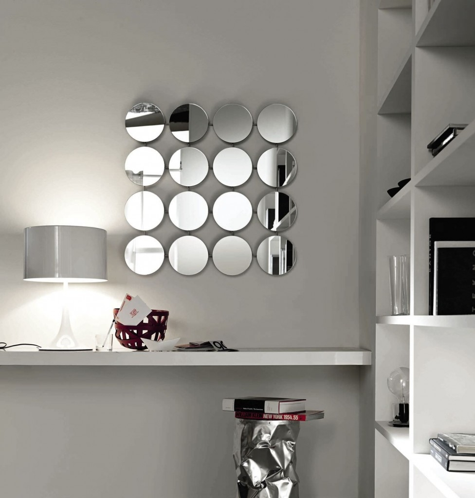Mirrored Circles Wall Decor 129 Stunning Decor With Exquisite For Small Decorative Mirror (Image 8 of 15)