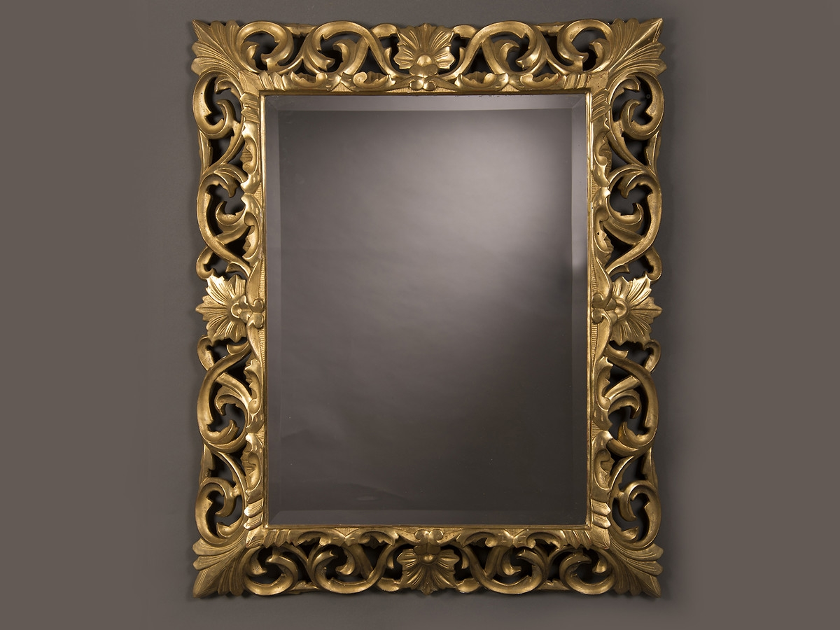 Mirrors Carl Moore Antiques Regarding Baroque Gold Mirror (Image 15 of 15)