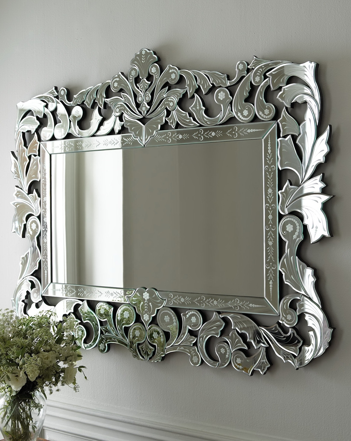 Mirrors For Sale White Framed Mirrors For Sale Mirror In The Intended For Venetian Mirror Sale (Image 9 of 15)