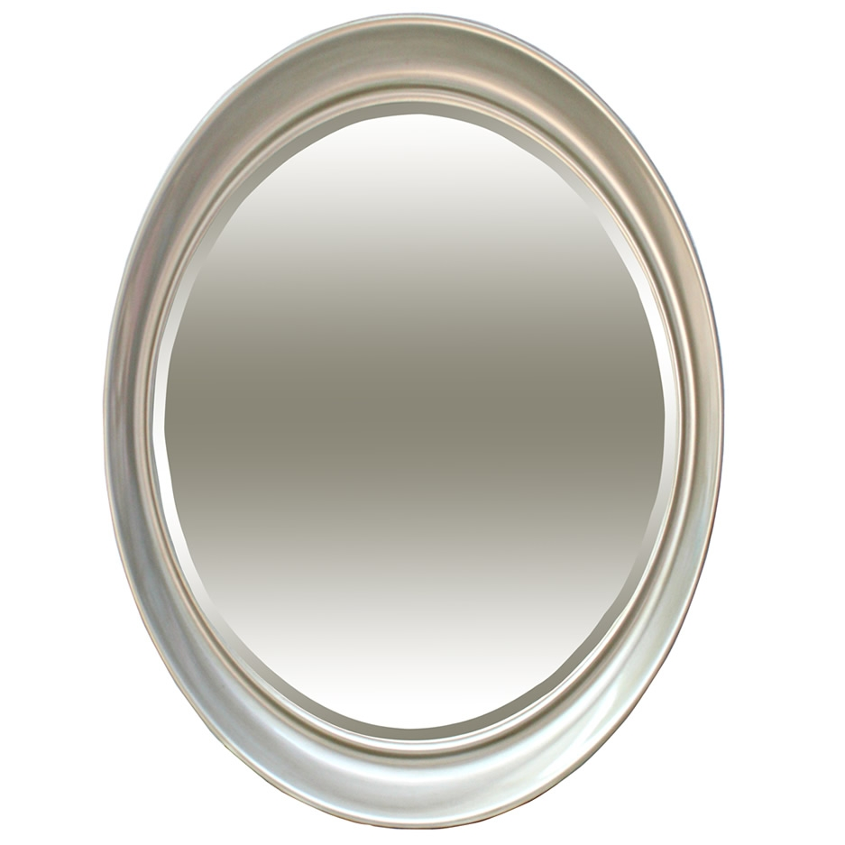 Mirrors Ireland Oval Mirrors Gold Black Silver Antique Oval Inside Silver Oval Mirror (Image 6 of 15)