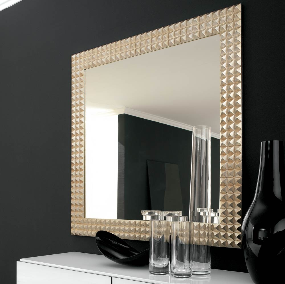 Mirrors That Mirror Your Style Unique Mirrors With Black And Gold Wall Mirror (Image 11 of 15)