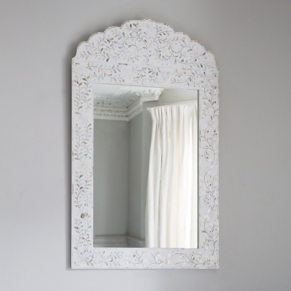 Mirrors With White Arch Mirror (Image 10 of 15)