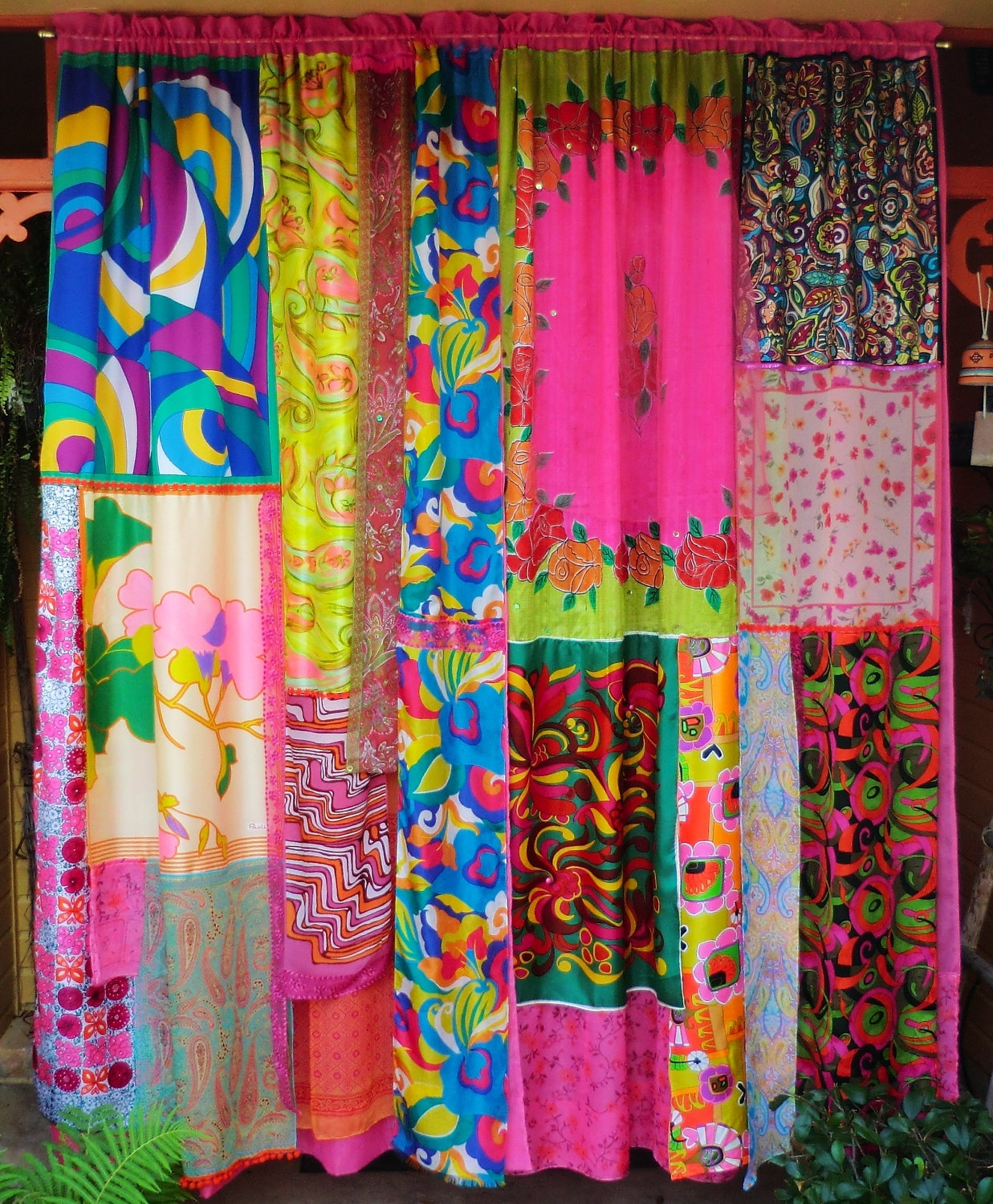 Mod Mod World Handmade Gypsy Curtains Hippie Global Vintage With Bohemian Curtains (View 5 of 15)