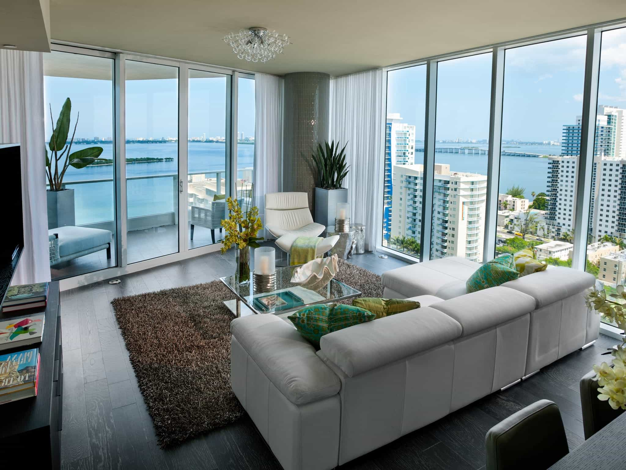 Featured Image of Modern Charming Apartment Living Room Interior Decoration