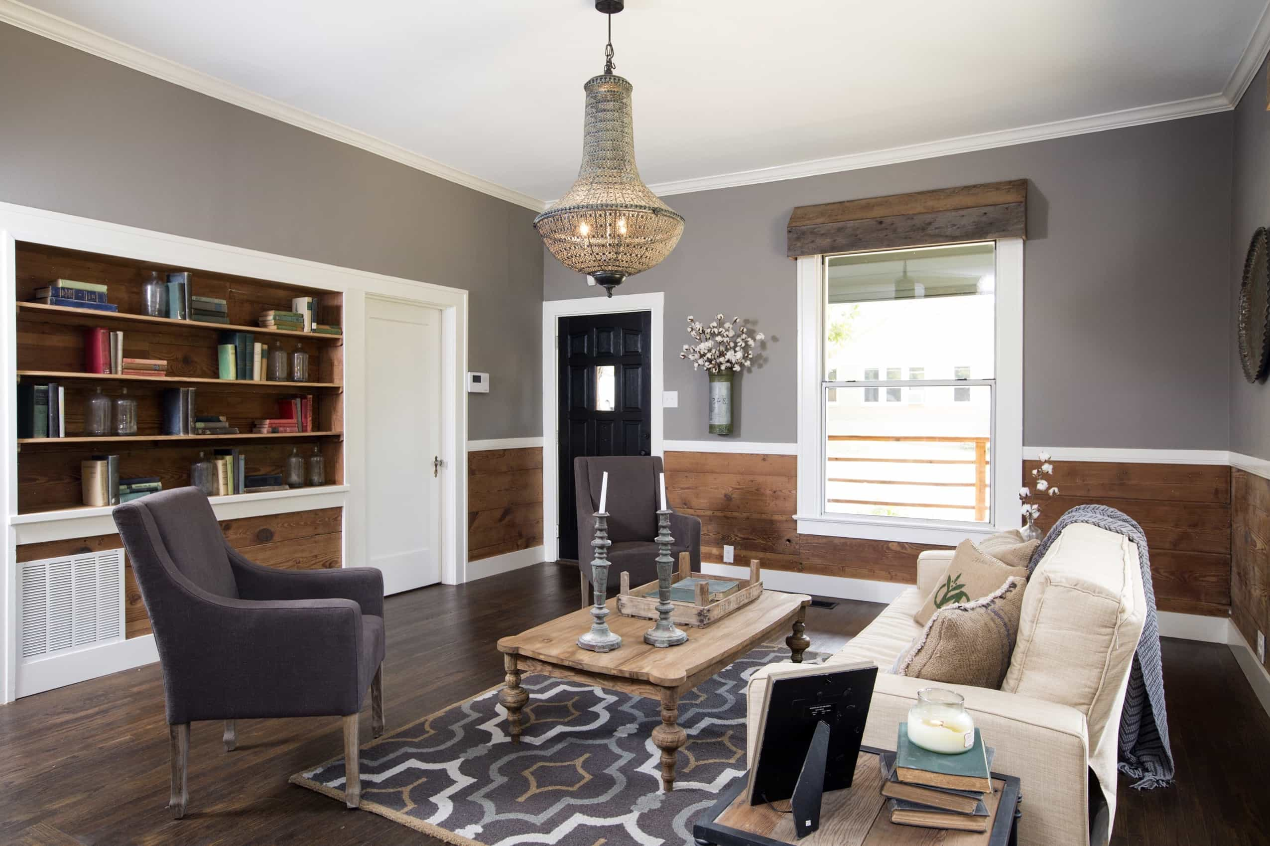 Featured Image of Modern Neutral Rustic Living Room In Cozy Style