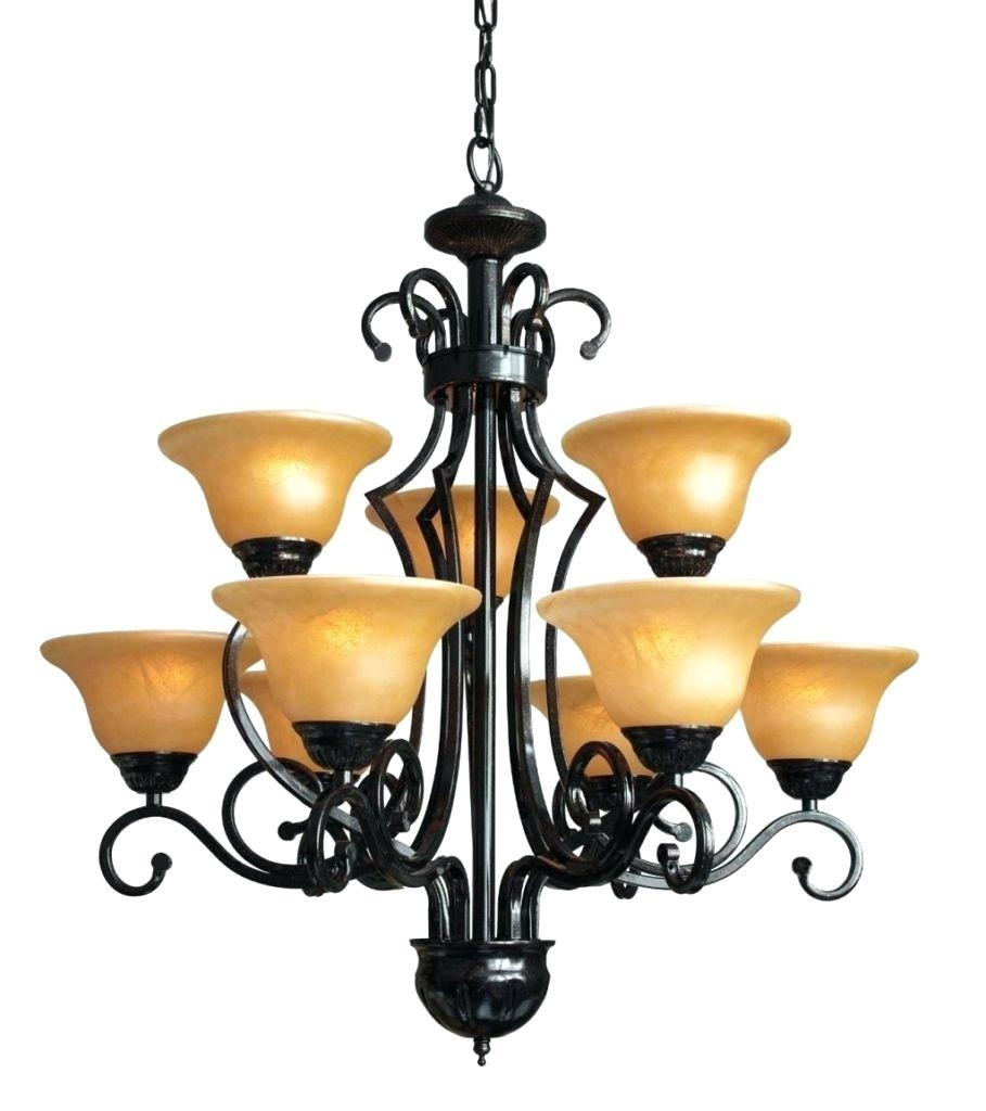 Modern Brushed Nickel Chandelier Antique Wrought Iron Chandelier Within Modern Wrought Iron Chandeliers (Image 9 of 15)