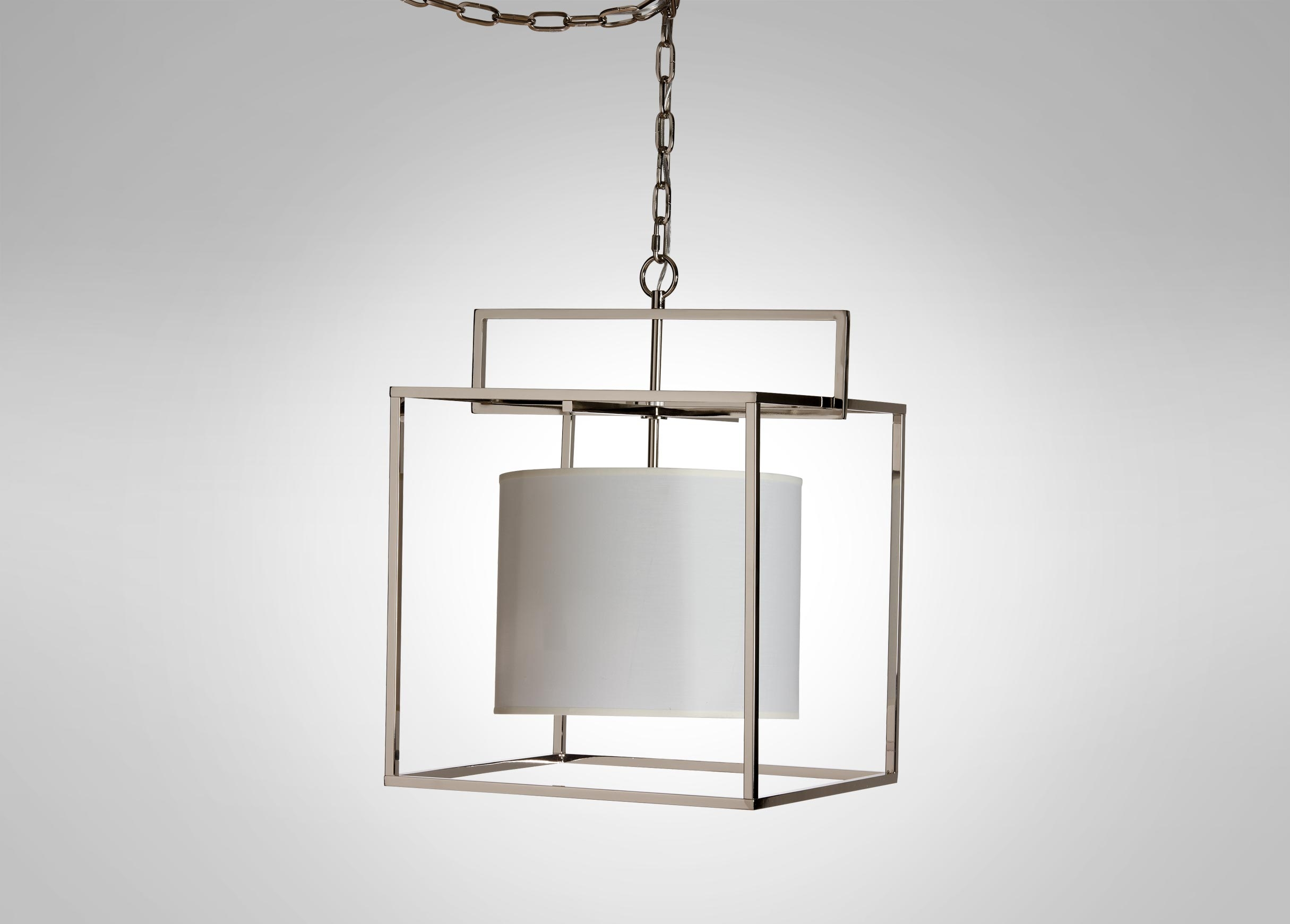 Modern Cage Nickel Chandelier Chandeliers For Cage Chandeliers (Image 11 of 15)