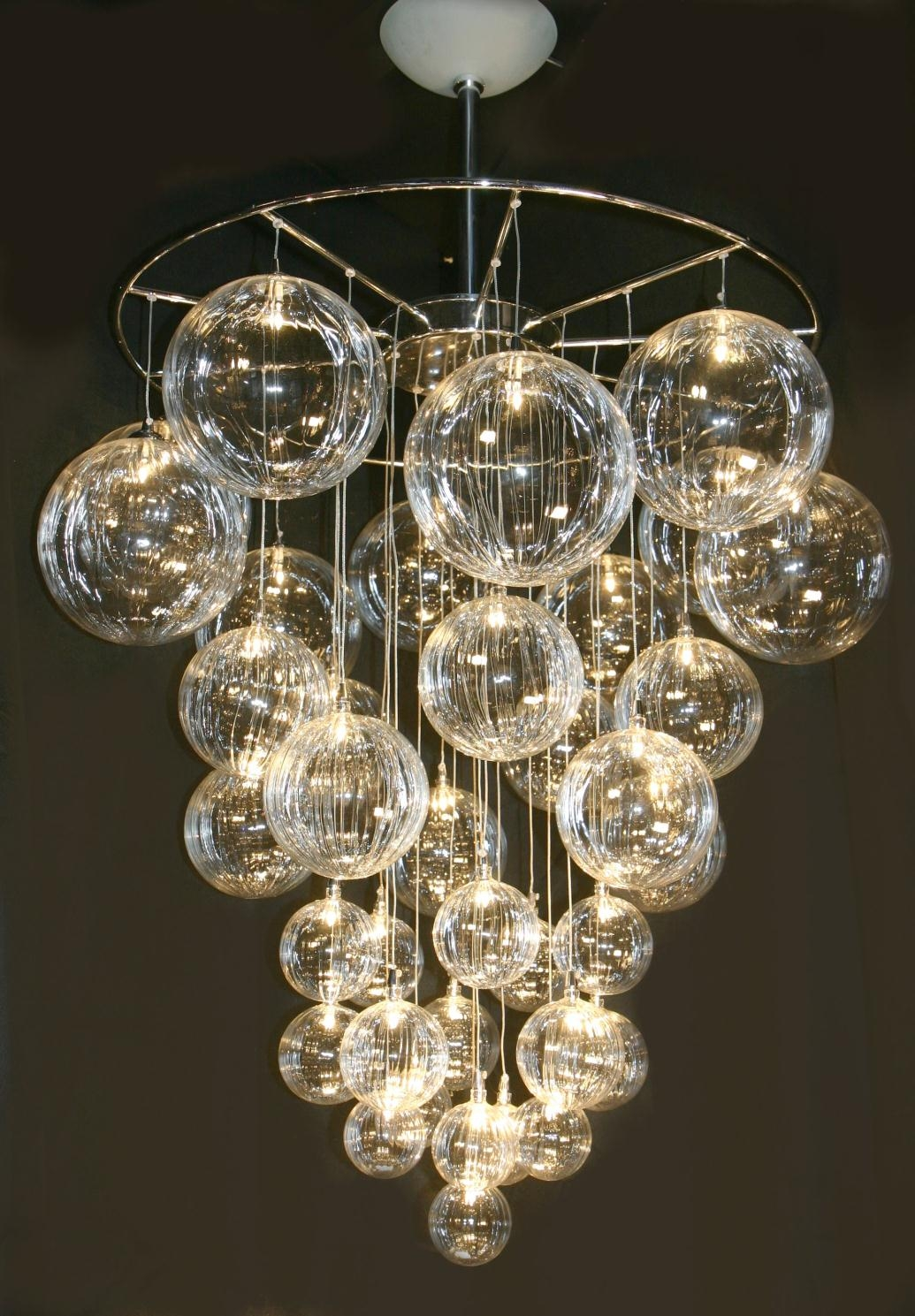 Modern Ceiling Chandeliers Intended For Ultra Modern Chandeliers (Image 8 of 15)